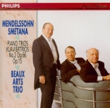 MENDELSSOHN-BARTHOLDY - Beaux Arts Trio - Trio avec piano n°2 en do mine