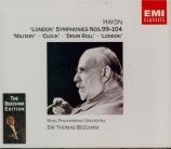 HAYDN - Beecham - Symphonie n°99 en si bémol majeur Hob.I:99