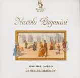PAGANINI - Zsigmondy - Caprices pour violon seul (extraits)