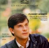SCHMITT - Le Corre - Pièces romantiques op.42