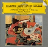MILHAUD - Plasson - Symphonie n°1 op.210