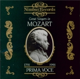 Great Singers in Mozart  1906-1938