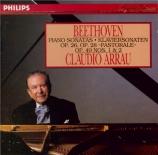 BEETHOVEN - Arrau - Sonate pour piano n°12 op.26 'Marche funèbre'