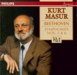 BEETHOVEN - Masur - Symphonie n°5 op.67