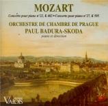 MOZART - Badura-Skoda - Concerto pour piano et orchestre n°22 en mi bémo