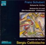 SCHUBERT - Celibidache - Symphonie n°5 en si bémol majeur D.485