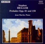 HELLER - Martin - Vingt-quatre préludes op.81