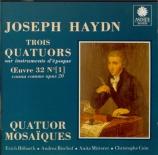 HAYDN - Quatuor Mosaïqu - Quatuor à cordes n°31 en mi bémol majeur op.20