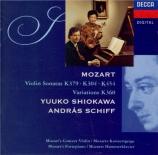 MOZART - Shiokawa - Sonate pour violon et piano n°27 en sol majeur K.379