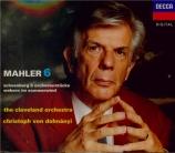 MAHLER - Dohnanyi - Symphonie n°6 'Tragique'