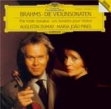 BRAHMS - Dumay - Sonate pour violon et piano n°1 en sol majeur op.78