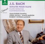 BACH - Rampal - Partita pour flûte seule en la mineur BWV.1013