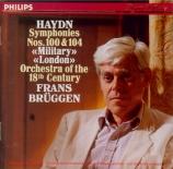 HAYDN - Brüggen - Symphonie n°100 en mi bémol majeur Hob.I:100 'Military