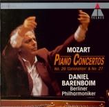 MOZART - Barenboim - Concerto pour piano et orchestre n°26 en ré majeur