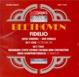 BEETHOVEN - Knappertsbusch - Fidelio, opéra op.72