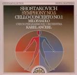 CHOSTAKOVITCH - Ancerl - Symphonie n°5 op.47