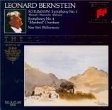 SCHUMANN - Bernstein - Symphonie n°3 pour orchestre en mi bémol majeur o
