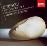 ENESCU - Foster - Symphonie n°1 op.13