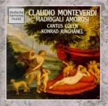 MONTEVERDI - Junghänel - Madrigali amorosi