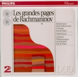 Les grandes pages de Rachmaninov