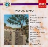 POULENC - Tacchino - Aubade, concerto chorégraphique pour piano et dix-h