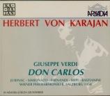 VERDI - Karajan - Don Carlo, opéra (version italienne) Live Salzburg 26 - 7 - 1958