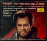 WAGNER - Böhm - Der fliegende Holländer (Le vaisseau fantôme) WWV.63 Bayreuth 1971