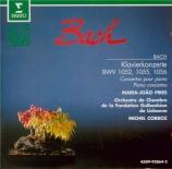 BACH - Pires - Concerto pour clavecin et cordes n°1 en ré mineur BWV.105