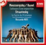 MOUSSORGSKY - Muti - Tableaux d'une exposition : orchestration de Ravel