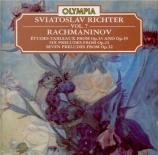 RACHMANINOV - Richter - Étude-tableau (Allegro non troppo) pour piano en