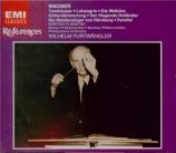 WAGNER - Furtwängler - Tannhäuser WWV.70 : ouverture