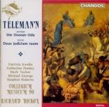 TELEMANN - Hickox - Donnerode I, oratorio sacré TWV 6:3a