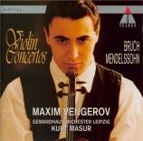 BRUCH - Vengerov - Concerto pour violon n°1 op.26