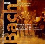 BACH - Hazelzet - Sonate pour flûte traversière et basse continue en la