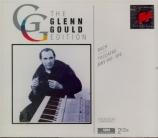 BACH - Gould - Toccata pour clavier en ré majeur BWV.912