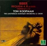 BIBER - Koopman - Requiem à 15
