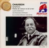 CHAUSSON - Monteux - Symphonie op.20