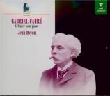 FAURE - Doyen - Oeuvre pour piano (intégrale)
