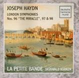 HAYDN - Kuijken - Symphonie n°96 Hob.I.96 'Le miracle'