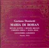 DONIZETTI - Gavazzeni - Maria di Rohan (Live Venezia, 26 - 3 - 1974) Live Venezia, 26 - 3 - 1974
