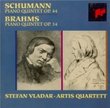 SCHUMANN - Artis Quartet - Quintette avec piano en mi bémol majeur op.44