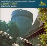 Anthologie de la musique tchèque pour piano / vol.5