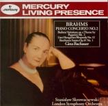 BRAHMS - Bachauer - Concerto pour piano et orchestre n°2 en si bémol maj
