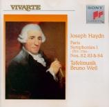 HAYDN - Weil - Symphonie n°82 en mi bémol majeur Hob.I:82 'L?ours'