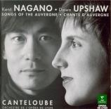 CANTELOUBE DE MALARET - Upshaw - Chants d'Auvergne : sélection
