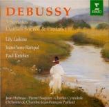 DEBUSSY - Laskine - Deux danses, pour harpe chromatique et orchestre à c