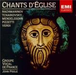 Chants d'église (Rachmaninov, Tchaikovsky, Verdi...)