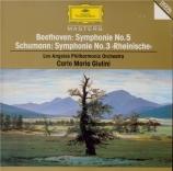 BEETHOVEN - Giulini - Symphonie n°5 op.67