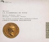 MOZART - Hogwood - La clemenza di Tito (La clémence de Titus), opéra ser