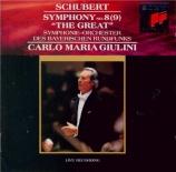 SCHUBERT - Giulini - Symphonie n°9 en do majeur D.944 'Grande'